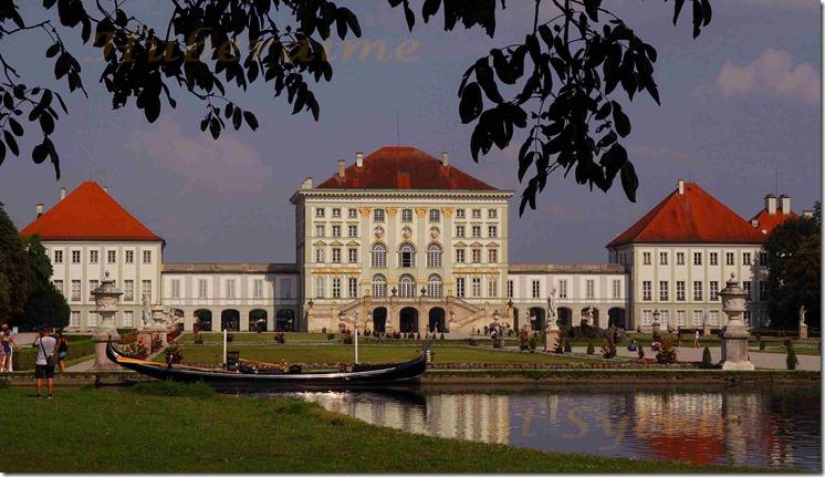 cr-Bavière Munich Château de Nymphenburg Face Ouest 02.08.2018a